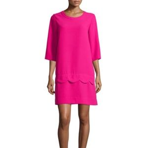 Kate Spade New York Demi Dress w/ Scalloped Detail